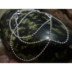 Sterling silver chain necklace 40 cm