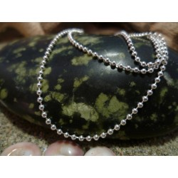 Sterling silver chain necklace 45 cm